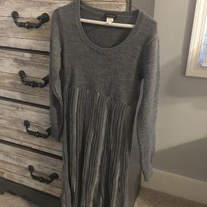 Grey Venus Sweater Dress
